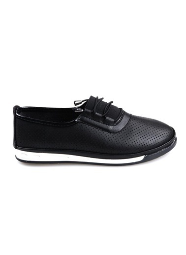 Papuçcity Aytu Bayan Siyah Günlük Ayakkabı Siyah
